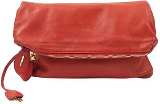 Rochas \N Red Leather Clutch bags