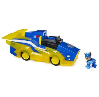 Paw Patrol PAW Patrol, Mighty Pups Charged Up Chase Transforming Deluxe Vehicle with Lights and Sounds