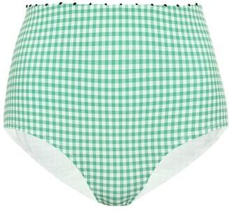 Marysia Swim Exclusive to Mytheresa Corsica high-waisted bikini bottoms