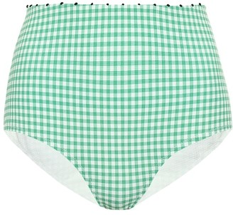 Marysia Swim Exclusive to Mytheresa Corsica high-waisted bikini bottoms