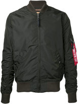 Alpha Industries arm pocket bomber jacket - men - Nylon - M