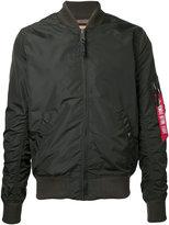 Alpha Industries arm pocket bomber jacket - men - Nylon - S