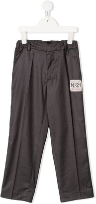 No21 Kids Side Stripe Casual Trousers