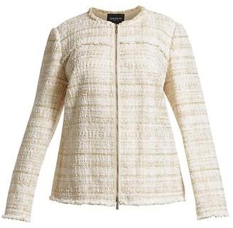Lafayette 148 New York, Plus Size Dash Artful Tweed Jacket