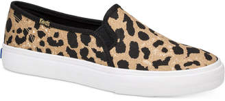 Keds Double Decker Leopard Sneakers Women Shoes