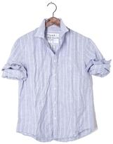 Frank And Eileen Mens Luke Multi Stripe Chambray Shirt