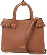 Burberry Women's Banner Small Leather & Check Tote