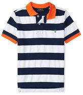 Ralph Lauren Boys 2-7 Short Sleeve Striped Polo Shirt