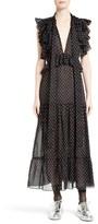 Robert Rodriguez Women's Polka Dot Maxi Dress