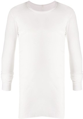 Rick Owens twisted seam T-shirt