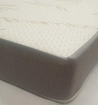 Camilla And Marc BabyLux Bamboo Foam Coil Spring Cot Mattress, 120 x 60 x 13 cm