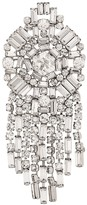 Christian Dior X Susan Caplan 1997 archive fringed crystal brooch