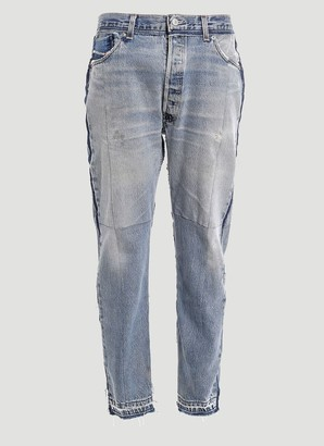 Diesel Red Tag X Readymade Panelled Jeans