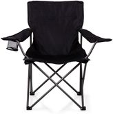 Picnic Time PTZ Camp Chair in Black