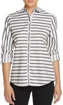 Foxcroft Stripe Button-Down Shirt