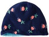 Kids Reversible Sherpa Lined Fleece Hat