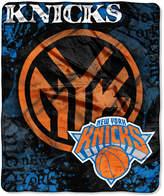 Northwest Company New York Knicks 50x60in Plush Throw Drop Down