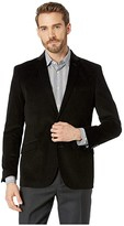Kenneth Cole Reaction Unlisted Corduroy Sportcoat (Black) Men's Jacket
