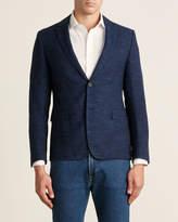 HUGO BOSS Virgin Wool-Blend Marled Sport Coat