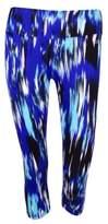 Calvin Klein Women's Printed Leggings (XS, Blue Violet Combo)
