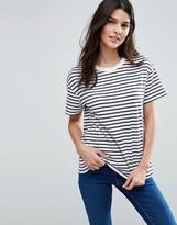 Asos Boxy T-Shirt in Stripe