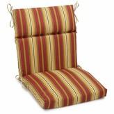 Kingsley Stripe Indoor/Outdoor Chair Cushion Charlton Home