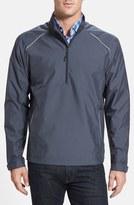 Cutter & Buck 'Weathertec Beacon' Water Resistant Half Zip Jacket (Big & Tall)