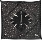 The Kooples Guitars Printed Wool Blend Scarf