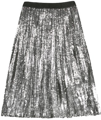 MSGM Kids Sequined skirt