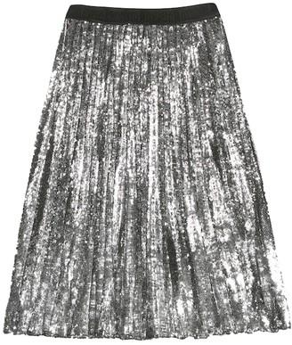 Msgm Kids Sequined skirt