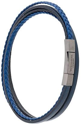 Tateossian Fettucini double wrap bracelet