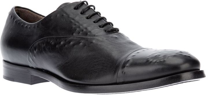McQ concealed stud oxford shoe