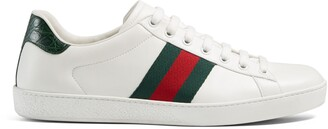 Gucci Men's Ace leather sneaker