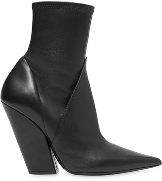 Burberry Panelled Ankle Boots