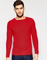Benetton Fine Cable Knitted Sweater