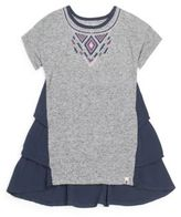 Lucky Brand Little Girl's Justine Tiered Ruffle Tee