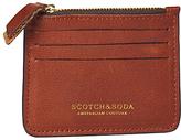 Scotch & Soda Leather Credit Card Holder