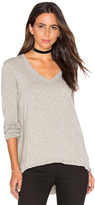 Wilt V Neck Side Slit Tunic Top