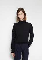 Margaret Howell Buttoned Roll Neck Sweater