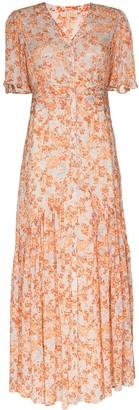By Ti Mo Floral Print Maxi Dress