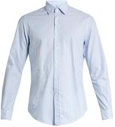 Glanshirt Ween striped cotton shirt