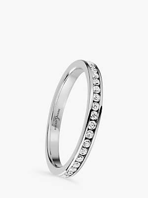 Brown & Newirth Platinum Diamond Eternity Ring, 0.50ct