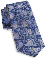 Rochester Paisley Silk Tie Casual Male XL Big & Tall