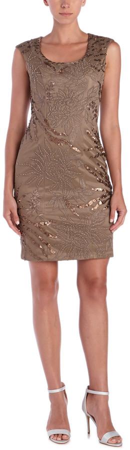 Sue Wong Sheath Dress