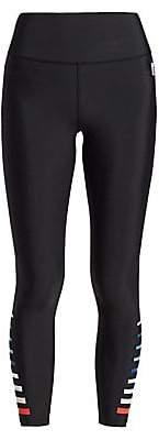 P.E Nation Women's Power Up Resurgence Multicolor Stripe Leggings