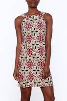 Aryeh Kaleidoscope Sleeveless Sheath Dress