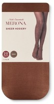 Merona Women's Cocoa 20D Sheer Tights