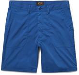 Beams Baker Slim-Fit Canvas Shorts