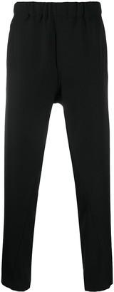 Ann Demeulemeester Elasticated-Waist Slim Trousers