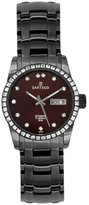 Sartego Women's SBBG51 Classic Analog Burgundy Face Dial Black Stainless Steel Watch